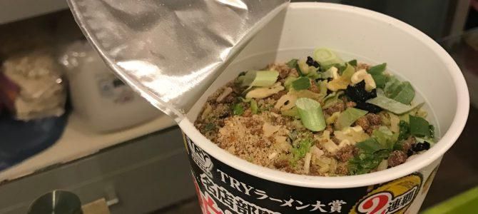 日本的雞白湯鹽味拉麵泡麵